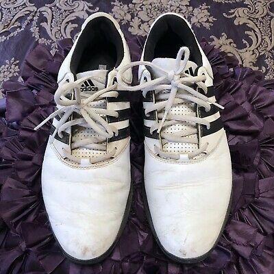 Ad(eBay) Mens Adidas Golf Shoes White