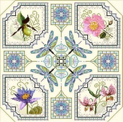 Flower Medaillons