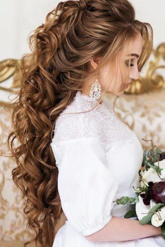Greek Wedding Hairstyles Half Up Half Down Archstyle Hair Styles