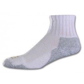Powersox Pro Thicks Quarter Large 10 13 2 Pair Mps 2705 Tennis Socks Mens Socks Goldtoemoretz