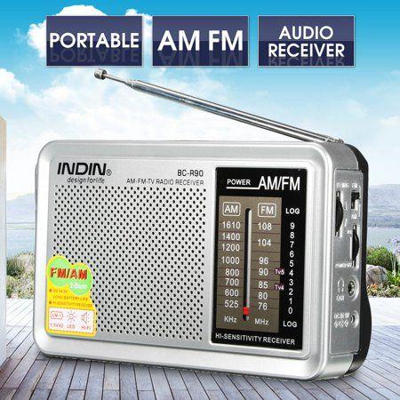 Indin Bc R90 Portable Pocket Hifi Stereo Led Mini Am Fm Radio