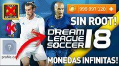 Descargar Dream League Soccer 2018 Apk Datos Hack Mod Monedas Infinitas Monedas Juegos De Football Uefa Champions Legue