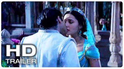 Aladdin Jasmine Aladdin Kiss Scene Trailer New 2019 Aladdin