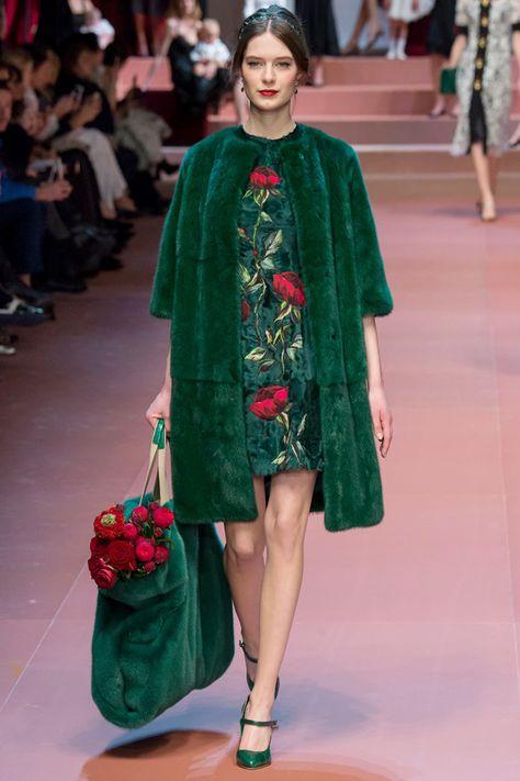 Milan Fashion Week - Fall/Winter 2015: Dolce & Gabbana | WedLuxe Magazine