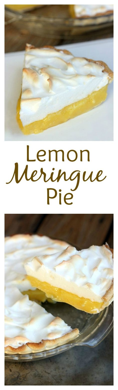 Fool-proof Lemon Meringue Pie with tips to avoid weeping and make the perfect meringue! On MyRecipeMagic.com