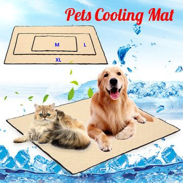 Non Toxic Cool Gel Pad Pet Cooling Mat Cooling Pet Bed For Summer