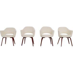 Ensemble De 4 Fauteuils Vintage Par Eero Saarinen Pour Knoll International 1960 En 2020 Fauteuil Vintage Decoration Maison Et Fauteuil