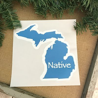Decal Michigan Native Cricut Expression Cricut Expression 2 Nativity