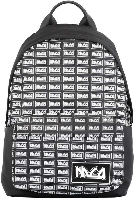 100/% Authentic 18FW Supreme Box Logo Backpack 45th 3M Reflective Bag Black