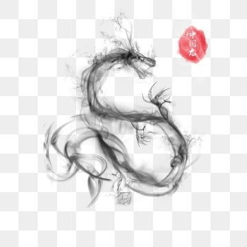 ink smoke effect chinese dragon commercial element ink smoke effect animal png transparent clipart image and psd file for free download in 2020 chinese dragon dark green aesthetic dragon ink smoke effect chinese dragon