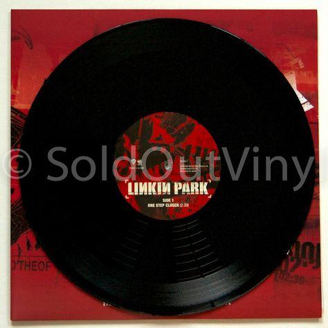 Linkin Park One Step Closer 10 Inch Vinyl Rsd Soldoutvinyl Linkin Park Vinyl Records For Sale