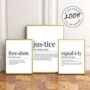 Social Justice Definitions Poster Set Word Art Typography Etsy Word Art Typography Word Art Social Justice