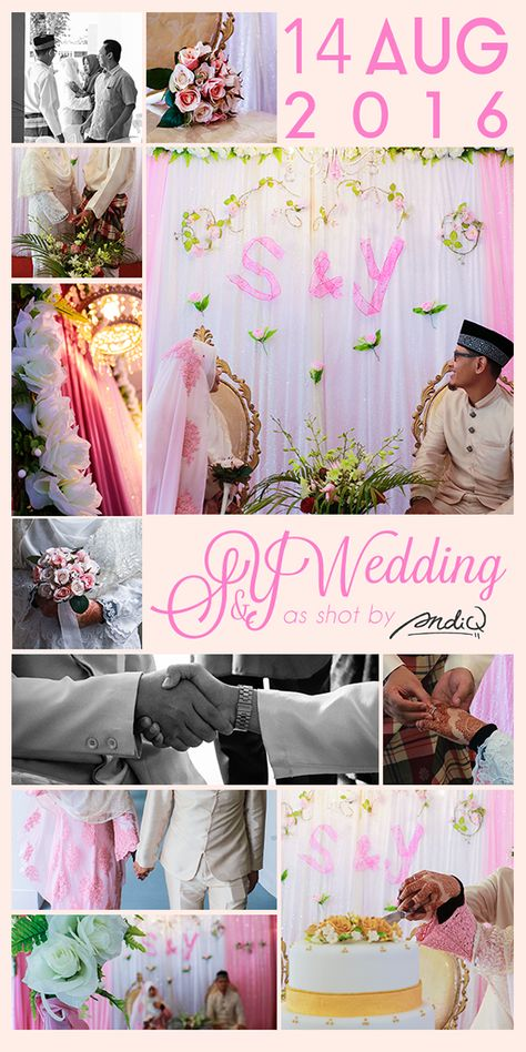 14 Aug 2016S&Y WeddingCamera: Canon 760DPhoto Edit: Adobe Photoshop Lightroom / Adobe Photoshop Thank you for putting your trust in me to capture your beautiful special day. I am glad that you love the photos and I pray that your marriage is full of…