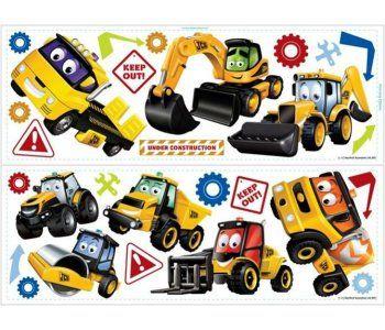 My 1st Jcb Wall Stickers Fun 4 Walls My 1st Jcb Wall Stickers 28