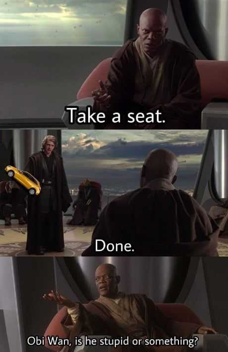 Star Wars Jokes Are The Best Star Wars Jokes Star Wars Memes Star Wars Quotes