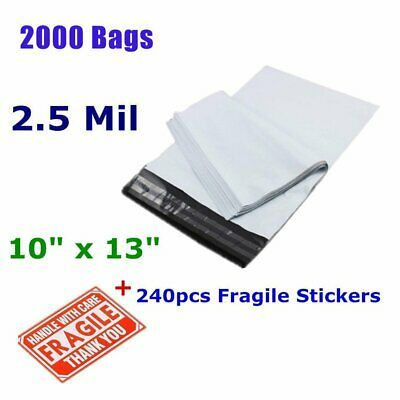 Ad Ebay 2000 10x13 Self Sealing Poly Mailers Shipping Envelopes Plastic Bags 2 5 Mil New Shipping Envelopes Poly Mailers Plastic Envelopes