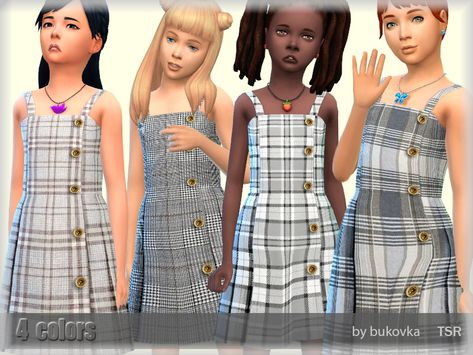 Sims 4 Cc Kids Clothing, Sims 4 Mods Clothes, Sims 4 Mac, Sims Cc, Kids Outfits Girls, Toddler Outfits, Girl Outfits, Sims 4 Black Hair, Sims 4 Children
