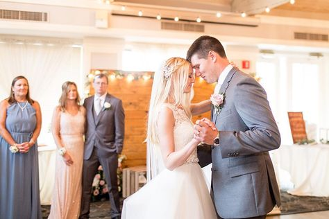 #firstdance #husbandandwife #reception #weddingreception #receptionvenue #weddingdress #graysuit #groomswear #bridal #rusticvenue #ballroom #bistrolights #weddingparty #blush #gray #blushandgray #weddingphotography #weddingcolorideas #rustic #weddingdecor #springwedding #summerwedding #rusticwedding #ballroom #highceilings #coastalwedding #ronjaworskiweddings #blueheronweddings #njweddings #njbride #golfcourseweddings #njreceptionvenue #njballroom Photographer: Petal and Glass Photography
