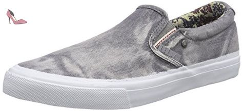 779c3654283105 REPLAY Clams, Sneakers basses homme - Gris - Grau (28), 44 EU - Chaussures  replay (*Partner-Link)