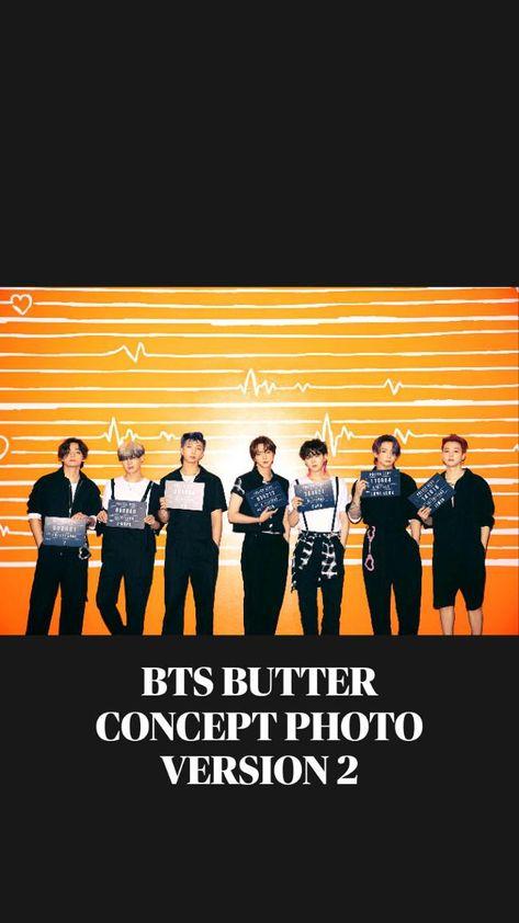 BTS BUTTER CONCEPT PHOTO VERSION 2