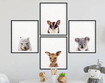 Australian Animal Prints Nursery Online