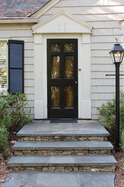 Nice Best 25+ Front Stoop Decor Ideas On Pinterest | Front Steps Stone, Front  Steps And Farmhouse Patio Doors