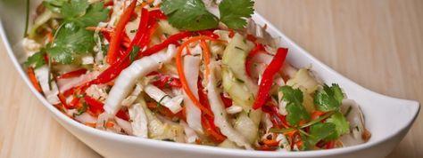 Zeste   Salade de chou napa asiatique