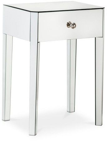 Thresholdtm Mirrored Accent Table With, Home Goods Mirrored Side Table
