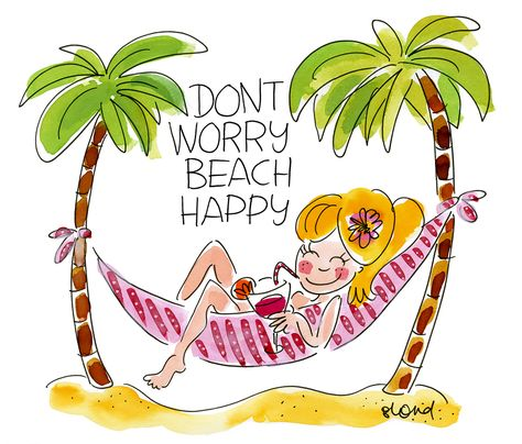 Don't worry beach happy! Blond-Amsterdam