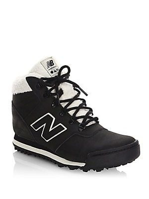 d6bbbfad New Balance - Leather High-Top Sneakers | women shoes in 2019 ...