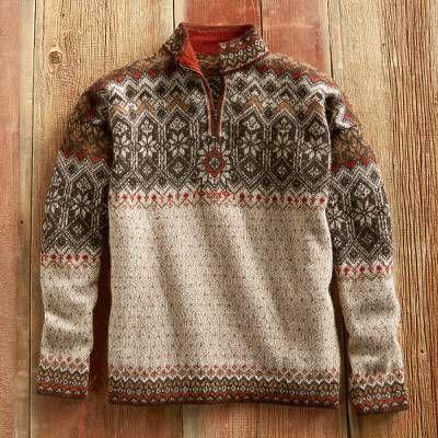 Alpaca Sweater for Men Alpaca Clothing Fashion Hoodie