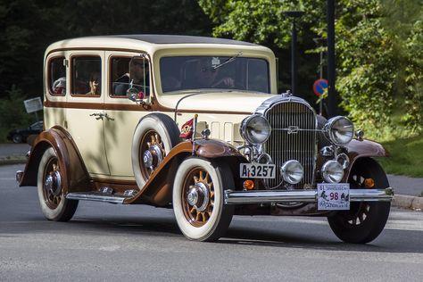 1931 Buick 4-Door Sedan 3.6L Straight-8 Cylinder 77Hp Engine (Stein Olsen)