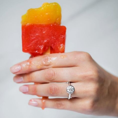 What's your favorite #flavor? #NationalCreamsicleDay  style: 17609W14 . . . . #JamesAllenRings #Creamsicle #icecream #icepop #yummy #delicious #summer #cold #hot #ice #food #instafood #foodofinstagram #picoftheday #photooftheday #instagram #flavors #melting #engaged #diamondring #weddingphotography #instawedding #bridetobe #manicure #nails #polished #yas #monday