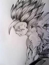 Pin De Luu Sanchez En Art Goku A Lapiz Dibujos Dibujo De Goku