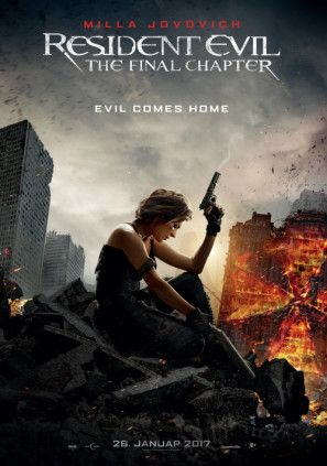 Resident Evil The Final Chapter Poster In 2020 Resident Evil