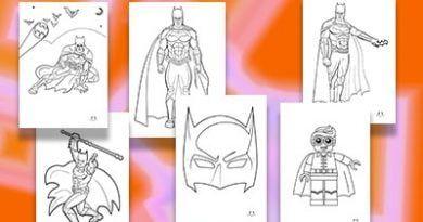 Didiyom Tv Cocuk Sarkilari Ve Egitim 2020 Batman Boyama Boyama Sayfalari Batman
