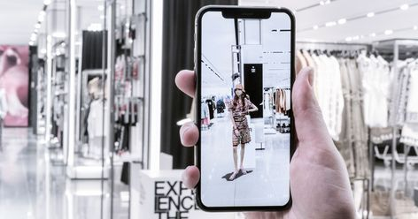 Zara Is Changing How We Shop Through Augmented Reality Sonja Köllinger April 13 2018 at 03:00PM Refinery29 #refinery29.com #FashionNews #FashionBlog