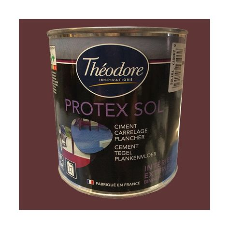 Achat Vente Theodore Peinture Protex Sol Rouge De La Marque Theodore Batiment Disponible Sur Peinture Des Peinture Sol Epoxy Peinture Sol Garage Peinture Sol