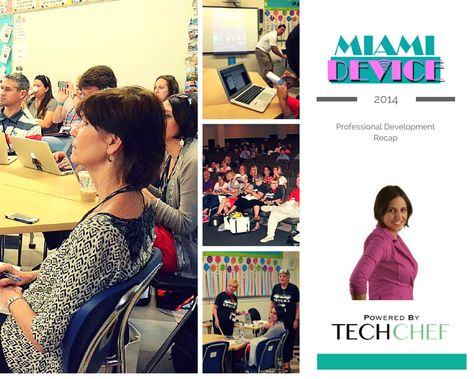 TOUCH this image: Miami Device Epic PD Recap Powered by TechChef by TechChef4u