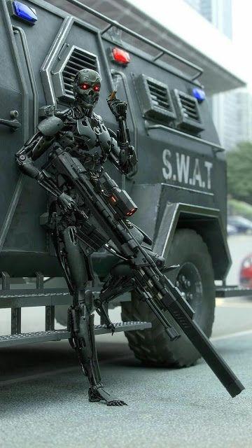 Robot Concept Art, Armor Concept, Dark Fantasy Art, Sci Fi Fantasy, Nono Le Petit Robot, Terminator Movies, Gato Anime, Arte Robot, Cool Robots