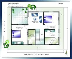 Image Result For 3 Bhk Home Plan 30 X 38 West Facing House Unique Small House Plans Duplex House Plans