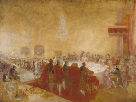 George IV at the Provost's Banquet in the Parliament House, Edinburgh (c.1822)