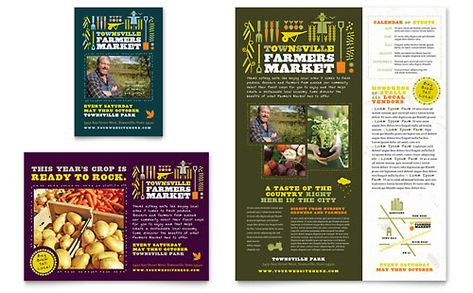Winery Flyer Template Design by StockLayouts Work Pinterest - free brochure templates for word 2007