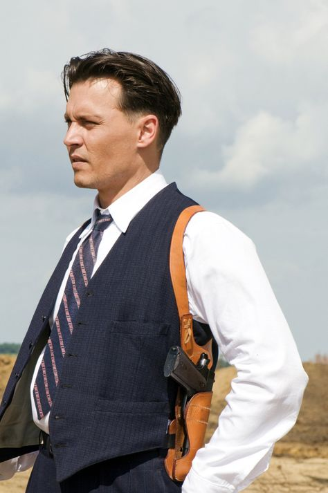 John Dillinger - Johnny Depp in Public Enemies (2009).