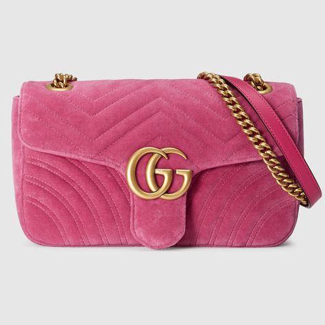 9c618040bb9 GG Marmont small Chevron shoulder bag | pulchritudinous | Gucci ...
