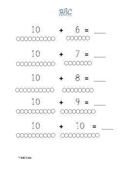 Pin By Sorina Bors On Math Worksheets Math Worksheets Montessori Math Math Coloring Worksheets