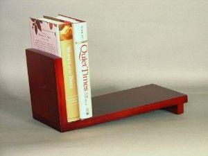 Countertop Bookshelf For Cookbooks Slant Book Rack Review At Kaboodle Book Racks Unique Bookshelves Cherry Kitchen