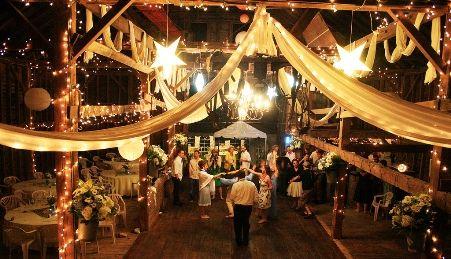 rustic wedding lighting. lighting transforms beautiful barn wedding one day pinterest and rustic