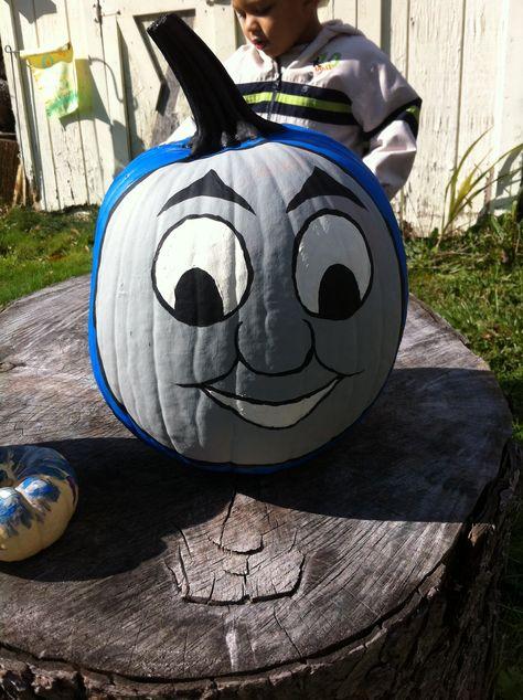 Thomas The Train Pumpkin