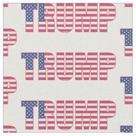 Classic Trump 2020 Fabric In 2020 Printing On Fabric Fabric